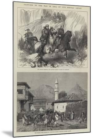 Sketches of the War in Asia-Charles Auguste Loye-Mounted Giclee Print