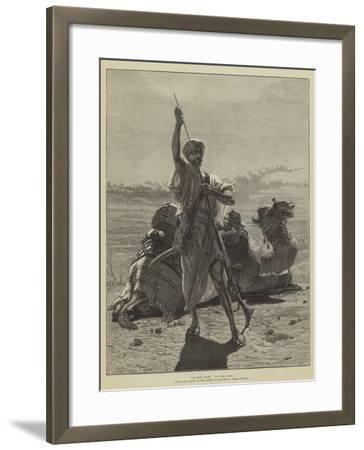 On the Alert-Carl Haag-Framed Giclee Print