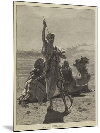 On the Alert-Carl Haag-Mounted Giclee Print