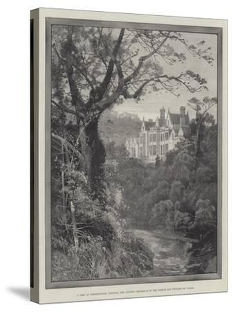 A Peep at Sandringham, Norfolk, the Country Residence of the Prince and Princess of Wales-Charles Auguste Loye-Stretched Canvas Print
