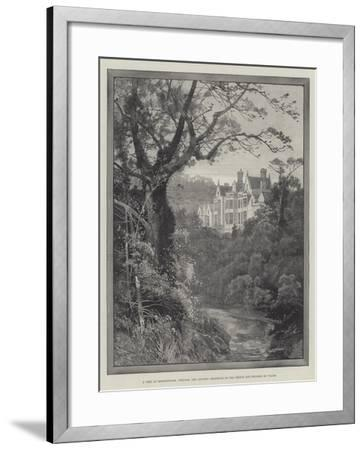 A Peep at Sandringham, Norfolk, the Country Residence of the Prince and Princess of Wales-Charles Auguste Loye-Framed Giclee Print