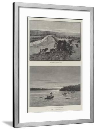 Views in Amatongaland-Charles Auguste Loye-Framed Giclee Print