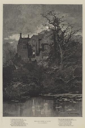 The Old House at Home-Charles Auguste Loye-Framed Giclee Print