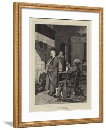 The Return from Work-Carl Julius Lorck-Framed Giclee Print