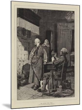 The Return from Work-Carl Julius Lorck-Mounted Giclee Print