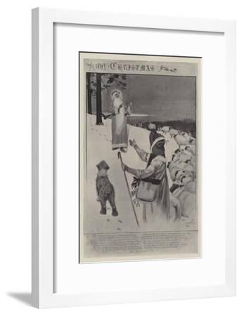 On Christmas-Cecil Aldin-Framed Giclee Print