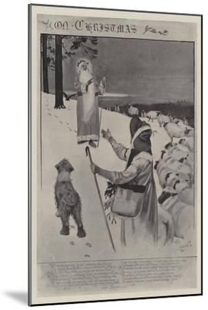On Christmas-Cecil Aldin-Mounted Giclee Print