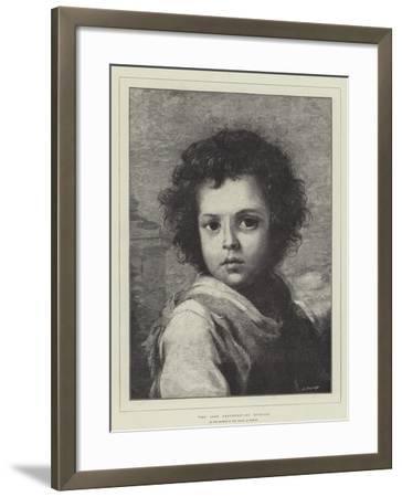 The Good Shepherd, in the Museum of the Prado at Madrid-Bartolome Esteban Murillo-Framed Giclee Print