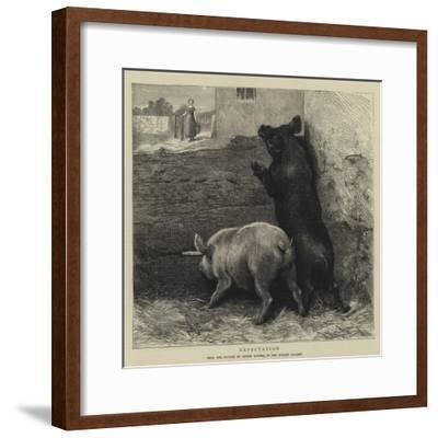 Expectation-Briton Riviere-Framed Giclee Print