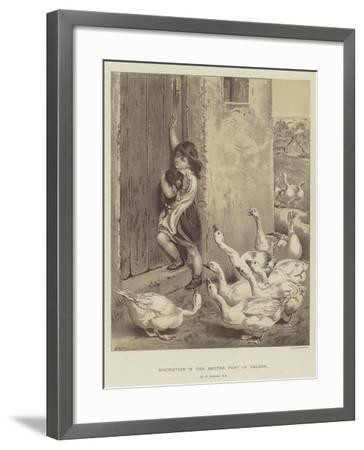 Discretion Is the Better Part of Valour-Briton Riviere-Framed Giclee Print