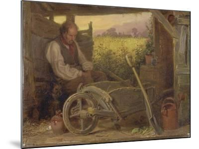 The Old Gardener, 1863-Briton Riviere-Mounted Giclee Print
