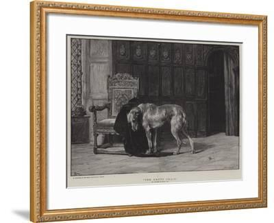The Empty Chair-Briton Riviere-Framed Giclee Print