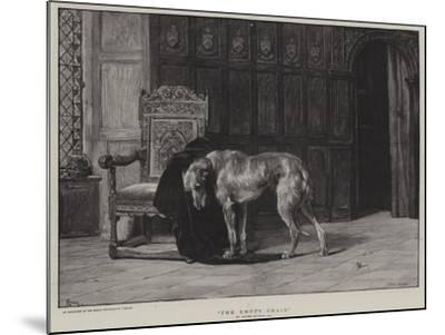 The Empty Chair-Briton Riviere-Mounted Giclee Print