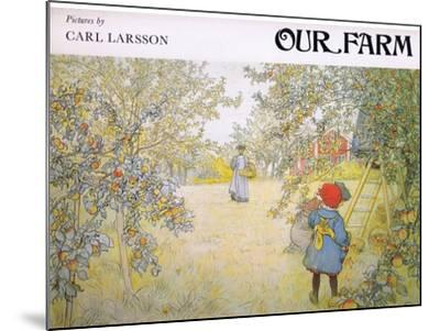 Front Cover-Carl Larsson-Mounted Giclee Print