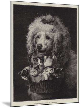 Friendship's Offering-Carl Reichert-Mounted Giclee Print