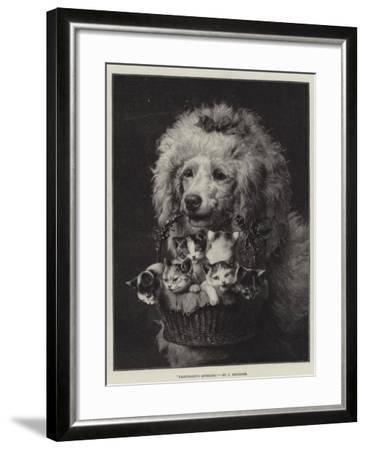 Friendship's Offering-Carl Reichert-Framed Giclee Print