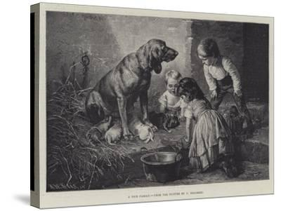 A Nice Family-Carl Reichert-Stretched Canvas Print