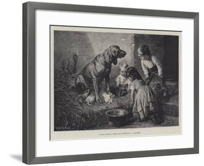 A Nice Family-Carl Reichert-Framed Giclee Print