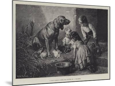 A Nice Family-Carl Reichert-Mounted Giclee Print