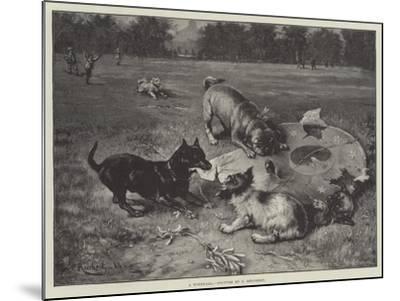 A Windfall-Carl Reichert-Mounted Giclee Print