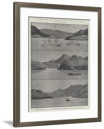 The Chinese Question, Views of the Stations Acquired by Great Britain and Russia-Charles Auguste Loye-Framed Giclee Print