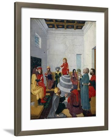 Christ Disputing with the Doctors-Bernadino Jacobi Butinone-Framed Giclee Print