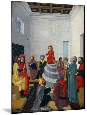 Christ Disputing with the Doctors-Bernadino Jacobi Butinone-Mounted Giclee Print