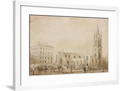 St Nicholas' Cathedral-C. W. Clennell-Framed Giclee Print