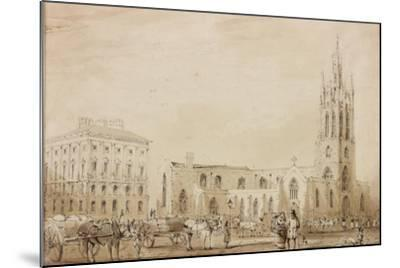 St Nicholas' Cathedral-C. W. Clennell-Mounted Giclee Print