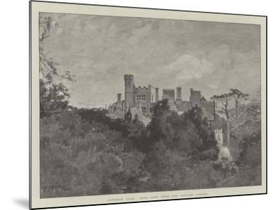 Cowdray Park, Side View from the Private Garden-Charles Auguste Loye-Mounted Giclee Print