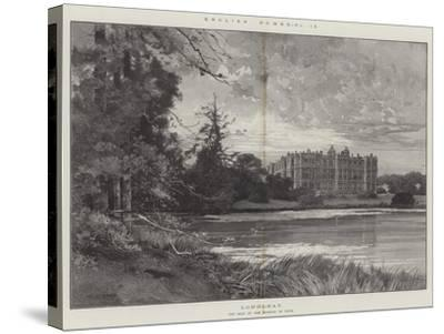 Longleat-Charles Auguste Loye-Stretched Canvas Print