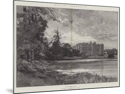 Longleat-Charles Auguste Loye-Mounted Giclee Print