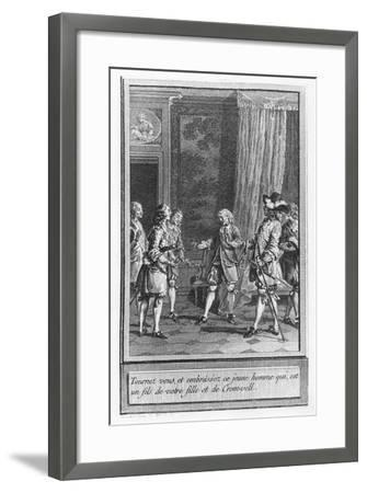 Illustration from 'The Life and Adventures of Mr. Cleveland-Charles Emmanuel Patas-Framed Giclee Print