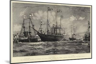 The Coronation Review at Spithead-Charles Edward Dixon-Mounted Giclee Print