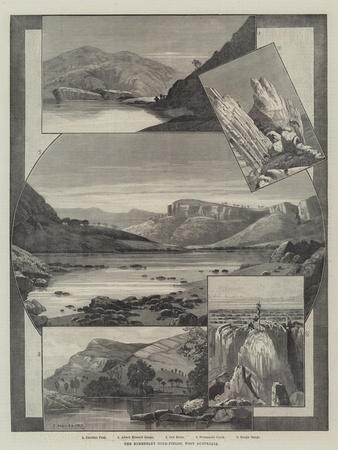 The Kimberley Gold-Fields, West Australia-Charles Auguste Loye-Framed Giclee Print