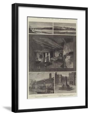 George Stephenson, the Father of Railways-Charles Auguste Loye-Framed Giclee Print
