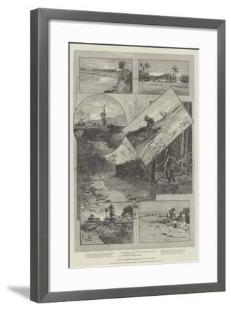The Chin Frontier Expedition in Upper Burmah-Charles Auguste Loye-Framed Giclee Print
