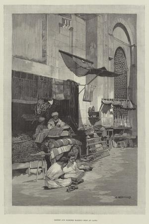 Saddle and Harness Maker's Shop at Cairo-Charles Auguste Loye-Framed Giclee Print