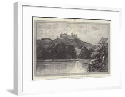 Belvoir Castle, the Seat of the Duke of Rutland-Charles Auguste Loye-Framed Giclee Print