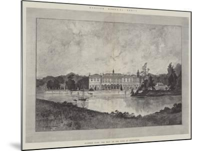 Clumber Park, the Seat of the Duke of Newcastle-Charles Auguste Loye-Mounted Giclee Print