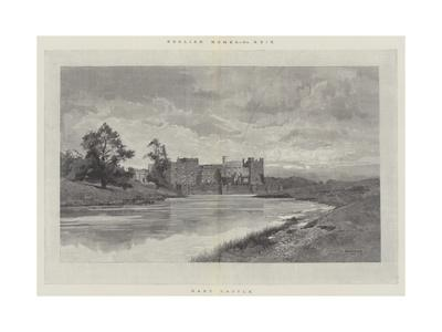 Raby Castle-Charles Auguste Loye-Framed Giclee Print