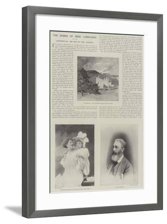 Castlewellan, the Seat of Earl Annesley-Charles Auguste Loye-Framed Giclee Print