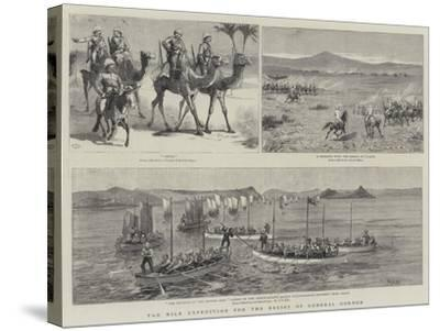 The Nile Expedition for the Relief of General Gordon-Charles Edwin Fripp-Stretched Canvas Print