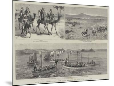 The Nile Expedition for the Relief of General Gordon-Charles Edwin Fripp-Mounted Giclee Print