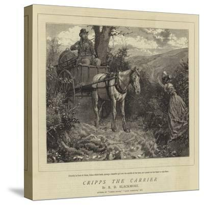 Cripps the Carrier-Charles Green-Stretched Canvas Print