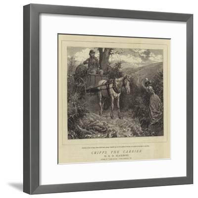 Cripps the Carrier-Charles Green-Framed Giclee Print