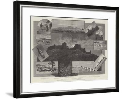 With the High Commissioner in Cyprus-Charles Auguste Loye-Framed Giclee Print