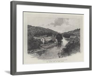 The Queen's Visit to North Wales-Charles Auguste Loye-Framed Giclee Print