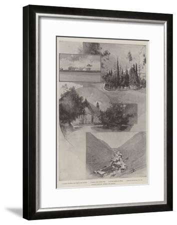 Cronje's Captivity, Scenes in St Helena-Charles Auguste Loye-Framed Giclee Print