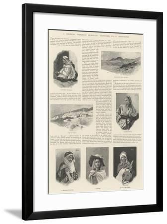 A Journey Through Morocco Giclee Print By Charles Auguste Loye Artcom